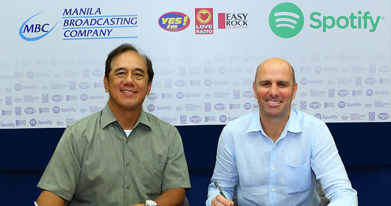 Spotify partners with Manila Broadcasting Company