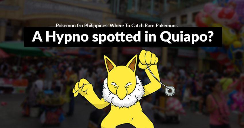 Pokemon Go Philippines: Where To Catch Rare Pokemons - 96 3 Easy Rock
