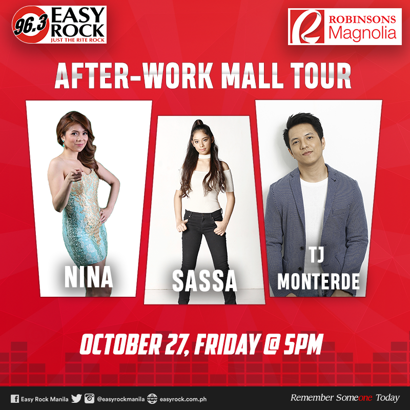 EASY ROCK - AFTER WORK MALL TOUR AT ROBINSONS MAGNOLIA