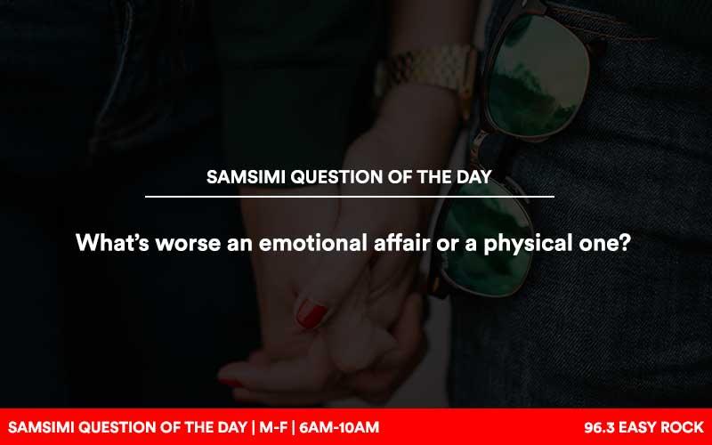 Emotional affair vs physical affair