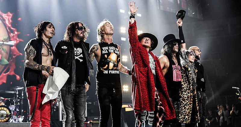 paradise city guns n 39 roses to perform in ph arena 96 3 easy rock. Black Bedroom Furniture Sets. Home Design Ideas
