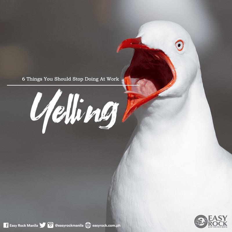 Yelling