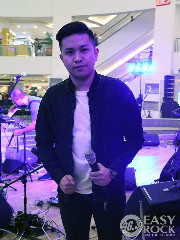 DJ Nick Easy Rock After-work Mall Tour at Trinoma