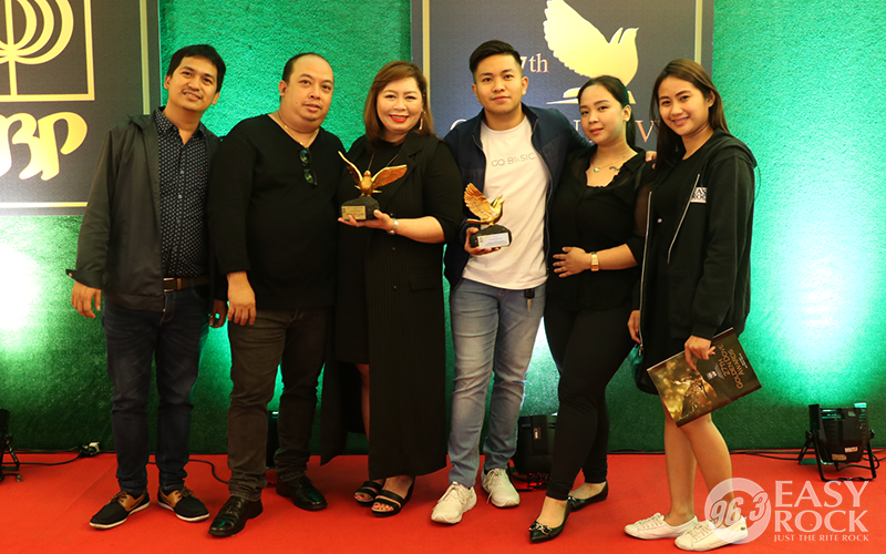 96.3 Easy Rock at the 27th KBP Golden Dove Awards