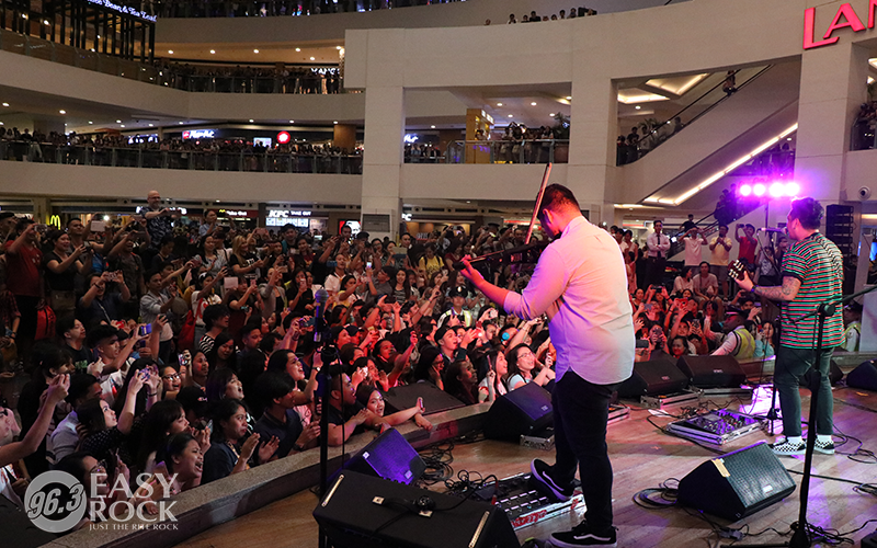 Silent Sanctuary at the Easy Rock After-work Mall Tour at Trinoma