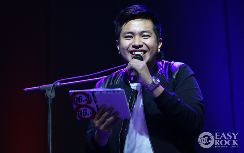 DJ Nick at an Easy Rock After-Work Mall Tour event in Glorietta